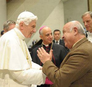 Pepe con Benedicto XVI